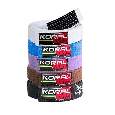 Koral Fight Co BJJ Belt