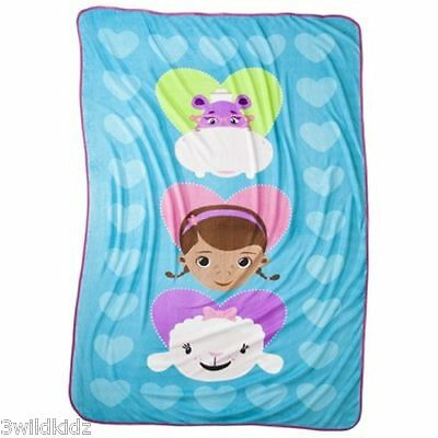 Doc McStuffins Plush Twin Blanket - Holiday Gift