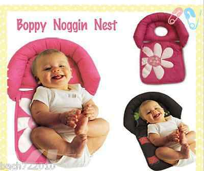 Newborn Baby Infant Pillow Boppy Noggin Nest Prevent Flat Head Anti Roll Support