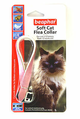 Beaphar Cat Flea Collar, Catwalk Collection Pink - Valentina Valentti UK