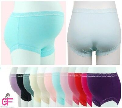 Pregnancy Maternity knickers panties briefs Underwear Size 6 to 12 fit 3-9 Month