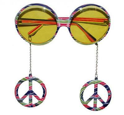 Occhiali peace and love