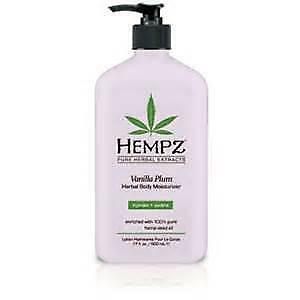 NEW Hempz Vanilla Plum Body Moisturiser 500mls from Celcius Skin & Beauty