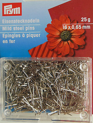 Craft pushpins Bastel Pins 16 mm from Prym 021 230