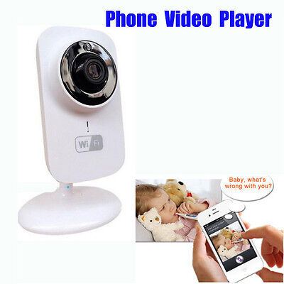 Monitor Baby Care Camera Video Wireless Night Vision Infant Digital Secure