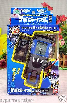 Bandai Digimon Savers Digivice Game Ic Data Link 20X (Black & Blue Color)