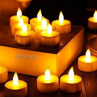 24pc Flameless LED Candle Flickering Tea Lights Battery Operated Home Candles