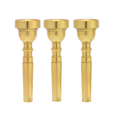 Professional Trumpet Mouthpiece for Bach 3C 5C 7C Mouth Size Gold Plated Machine