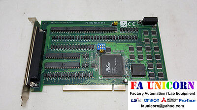 [Advantech] PCI-1752 Rev.A1 01-1 PCI board Used EMS / UPS Fast Shipping