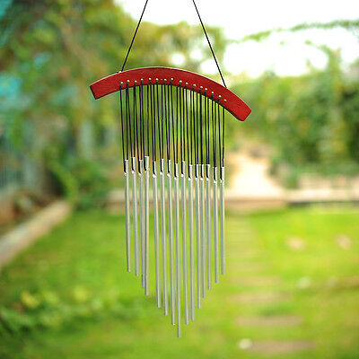 15 Tubes Japanese Style Arc-shaped Yard Garden Wind Chimes Decor Ornaments