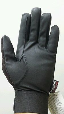 Brand New Horse Riding Gloves Chocolate Thinsulate/synthetic leather XXS