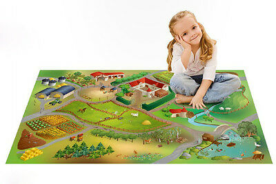 House of Kids 11223-E2 Spielteppich - Farm NEU & OVP