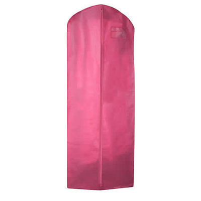 Pink WEDDING DRESS GOWN COVER with Large Gusset in Breathable Polypropylene 2017