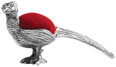 Pheasant Pin Cushion Sterling Silver 925 Hallmarked From Ari D Norman