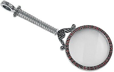 Victorian Magnifying Glass Sterling Silver 925 Hallmarked New From Ari D Norman
