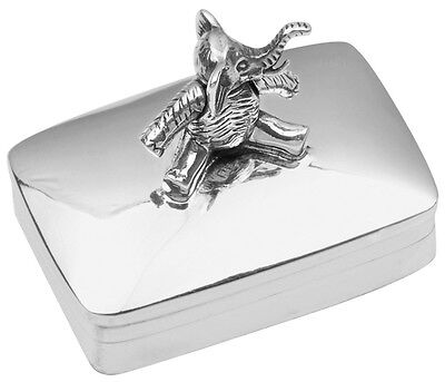 Moving Elephant Pillbox Sterling Silver 925 Hallmarked New From Ari D Norman