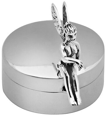 Fairy Pillbox Sterling Silver 925 Hallmarked New From Ari D Norman