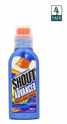 Shout Advanced Ultra Concentrated Stain Removing Gel 8.7 Oz (Pack of 4)