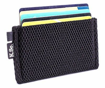 Slim Minimalist Front pocket Wallet and Card Holder.Small wallet for men & women