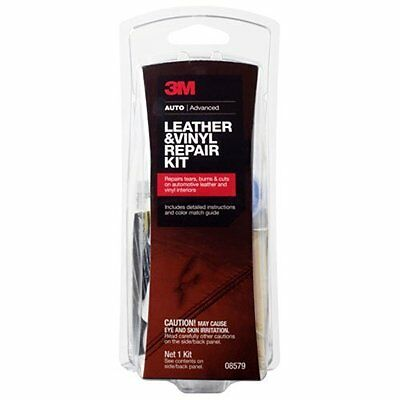 3M 08579 Leather & Vinyl Repair Kit 3M Leather & Vinyl Repair Kit Repairs Leath