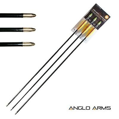 "30"" Long  Fibreglass Arrows Pack of 3 - archery bow"