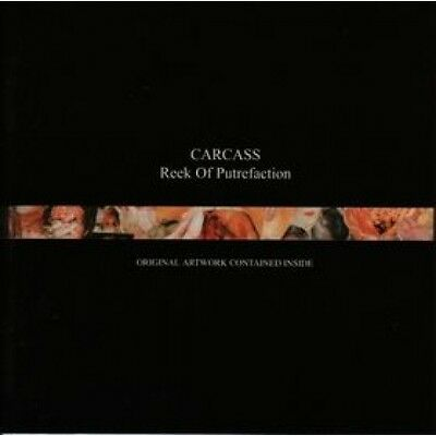 "Carcass ""Reek Of Putrefaction"" CD - NEW!"