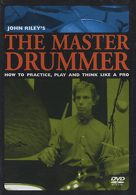 John Riley The Master Drummer Drum Tuition DVD How to Practice Play Like a Pro