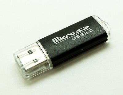 Portable USB 2.0 Adapter MicroSD SD SDHC Memory Card Pro SDXC Reader Flash Drive