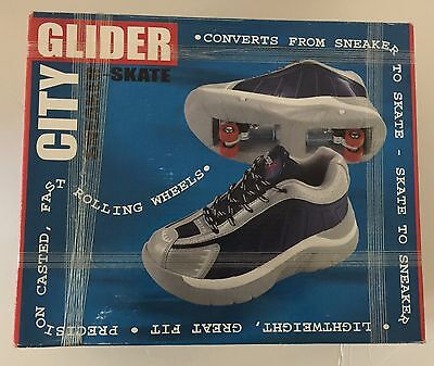 City Glider Roller Sneaker Skate Youth Shoes Sz 7