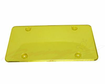 License Plate cover Frame Yellow, 2pc fit Canada & USA License plate cover