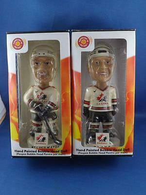 Rob Blake Niedermayer 1972 Team Canada Hockey Bobblehead Limited Edition Lot