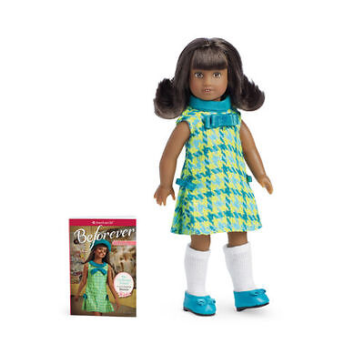 American Girl Melody Ellison Beforever  Mini Doll & Mini Book Brand New Gorgeous