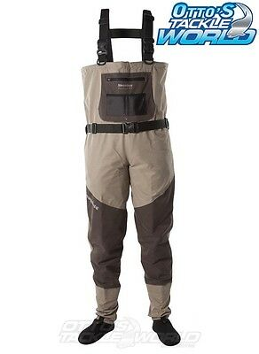 Snowbee Prestige Chest Waders (Stocking Foot) BRAND NEW at Otto's Tackle World