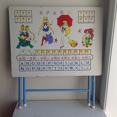 Unique Sailor Moon Folding Snack Activity Table - Rare Awesome