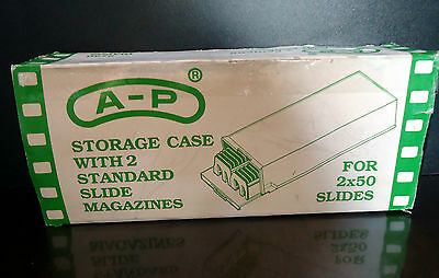 Storage Slide Case - storage for 100 slides As new in box Made in Spain