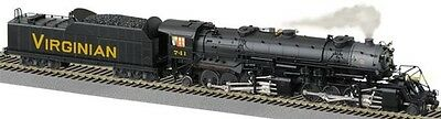 Lionel American Flyer 6-48182 Virginian 2-8-8-2 w/Legacy Command Control Feature