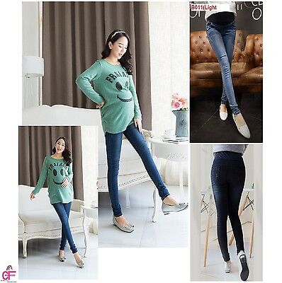 Skinny Maternity New Jeans Pregnancy ware Clothes Size 10 12 14 16 18 20 -B011