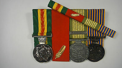 Australian Fire Service Medal Commendation for Brave Conduct N.E.M. Long Service