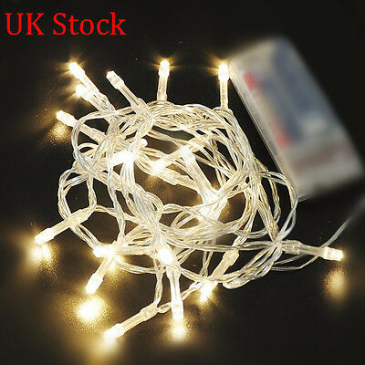 2/4/5/10M LED String Fairy Lights Indoor/Outdoor Xmas Christmas Party Wedding UK