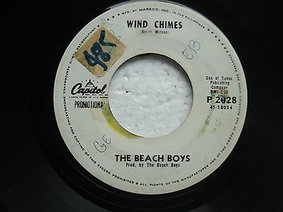 The Beach Boys - Wind chimes/ Wild Honey - RARE PHILIPPNES PROMO 45 RPM