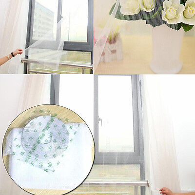 2016 Nylon Mosquito Screens With Self-adhesive Diy Gauze Invisible net CB
