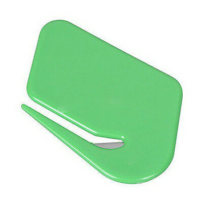Mail Envelope Plastic Letter Opener Office Equipment Safety Paper Guarded Blade