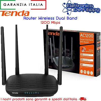 Access Point Tenda Wireless N300 Poe 2 Antenne Esterne 5Dbi Nero Ap4