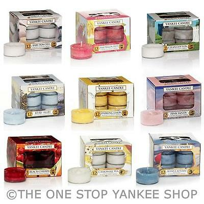 Yankee Candle Scented Tea Lights Variety