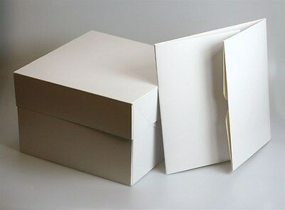 "12"" 12 inch CAKE BOX BOXES - PACK OF 5 - FAST NEXT DAY DESPATCH"