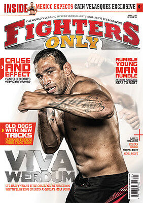 Fighters Only Magazine Issue 121 (November 2014 Issue)