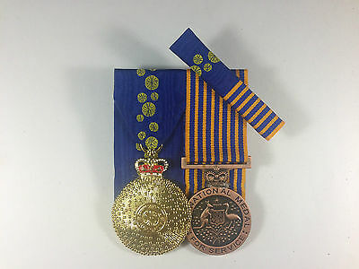 Member of the Order of Australia, National Medal