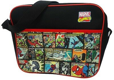 Marvel Comics | Hulk | Spider-Man Shoulder | Messenger | Courier | School Bag