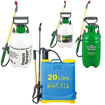 New Fence Patio Weed Killer Paint Water Car Pressure Sprayer 5L 8L 20L
