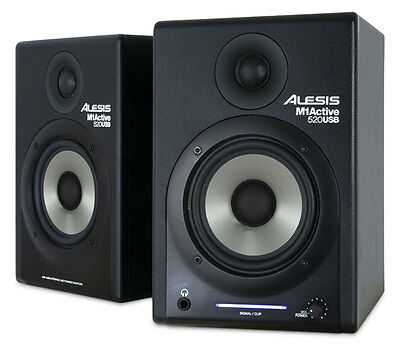 Alesis M1-520USB Active Monitors with USB (pair)(NEW)